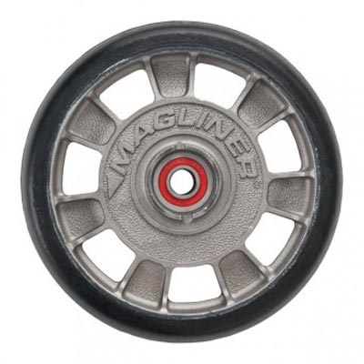 "Magliner 8"" mold-on rubber wheel  - 33-1032-00 - Item Photo"