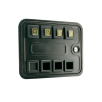 40-0325-00 - Multi-Player Standard Door, Four Entry without Harness, Meter or Box Assembly