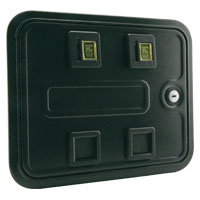 40-0008-00 - Multi-Player Standard Door, Double Entry without Harness, Meter or Box Assembly