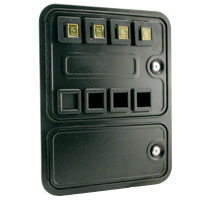 40-0946-00 - 4-Entry Multi-Player Over/Under Door without Cashbox or Enclosure
