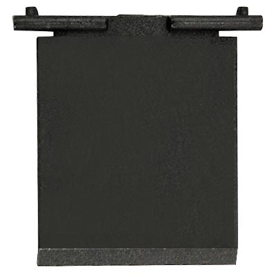 Plastic Return Door Flap for Over/Under Upstacker Validator Door - 42-0119-00D - Item Photo