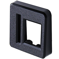 42-0231-00D - Plastic Entry Bezel for SUZOHAPP Coin Doors