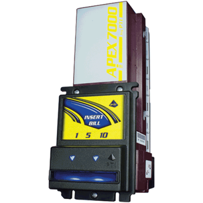 Baytek-APEX 7400 Series Bill Validator, 120V, $1-$20, U13-USA - 42-0452-00 - Item Photo