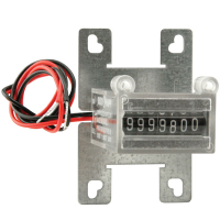 42-08005-071 - 7-digit Meter 5V w/ internal diode & mounting bracket
