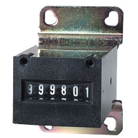 TRUMETER 6-Digit Meter, 120V AC, with Bracket, without Diode - 42-1167-00 - Item Photo