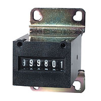6-Digit Meter 12V w/ mounting Bracket & w/o Diode - 42-0092-00 - Item Photo