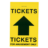 Ticket Dispenser Label Set - 42-1378-00 - Item Photo