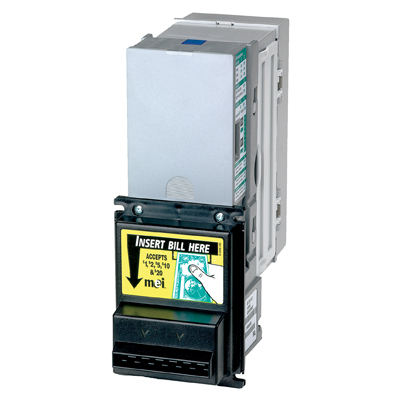 MEI Upstacker Validator 12V Battery $1 - $5 with 500 Bill Capacity AE2455U5E for Valley - 42-20101-00 - Item Photo