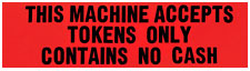 """Token Only"" Label - 42-7018-00 - Item Photo"