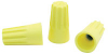 Spring Loaded Wire Connectors, Yellow, 18-12 Wire Gauge - 43-0482-00