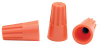 Spring Loaded Wire Connectors, Orange, 22-14 Wire Gauge - 43-0483-00
