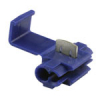 3M Scotchlok Connector, Dark Blue, 14-18 AWG, Pack of 100 - 43-0824-00
