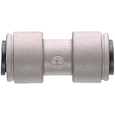 "John Guest 1/4"" Tube Union Connector - Super Speedfit® Push-In - 43-1426-00 - Item Photo"