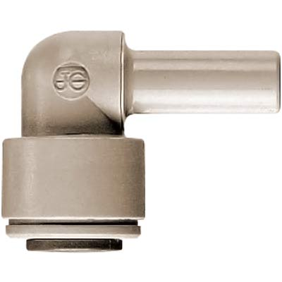"John Guest Elbow Plug - 1/4"" x 1/4"" Stem - Super Speedfit® Push-In Fittings - 43-1432-00 - Item Photo"