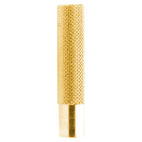 480009 - Heavy Brass Knurled Dart Collar, 12 Grams