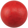 "Red 3"" Plastic Redemption Ball, Smooth - 49-0489-20"