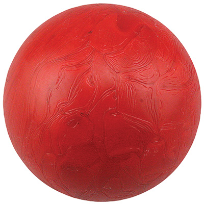 "Red 3"" Plastic Redemption Ball, Smooth - 49-0489-20 - Item Photo"