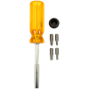 "7"" Magnetic Screwdriver with 4 Bits - 49-0585-00"