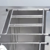 49-0787-00 - Stainless Steel Basket For 3 Cash Boxes
