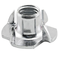 49-1002-04 - T-Nut for Leg Levelers, 3/8 Thread
