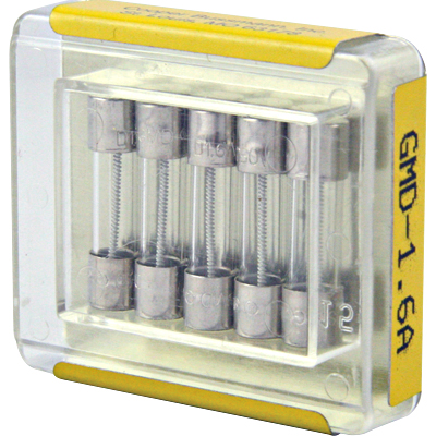 GMD Slow Blow Fuse, 250V, 1.6 Amp - 49-5062-00 - Item Photo