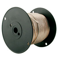 Speaker Wire - 16 Gauge, Clear, 500ft Spool - 060225 - Item Photo