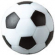 Soccer Style Foosball, Black & White Checkered Surface - 49-0550-16BWC