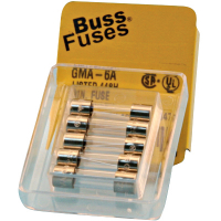 49-0652-00 - GMA Fast Blow Fuse, 125V, 6 Amp