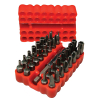33-Piece Security Bit Set - 49-0710-10