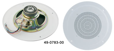 "8"" Ceiling Speaker with 10W Transformer - 49-0783-00 - Item Photo"