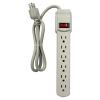 6-Outlet Power Strip with Surge Protector - 49-0963-10