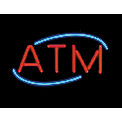 ATM Neon Sign - 49-1122-00 - Item Photo