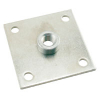 "Leg Leveler Mounting Plate with 1/2"" Pem Nut - 49-1501-00"
