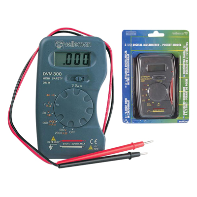 Digital Pocket Multimeter - 49-27731-00 - Item Photo