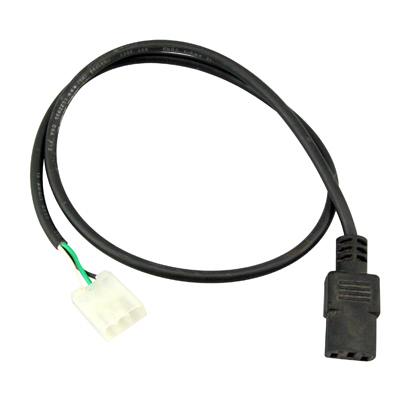 Power Harness for LCD Power Supplies 3 Pin Molex to IEC Plug - 49-3217-LCD - Item Photo