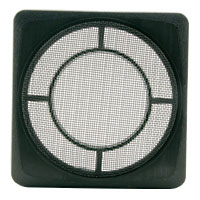 "4"" Square Speaker Grille, Black - 49-5182-00 - Item Photo"