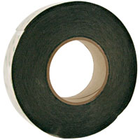 "Touchscreen Foam Tape, Black, Single Sided Adhesive 1-1/4"" W x .032"" Thick - 49-5196-100 - Item Photo"