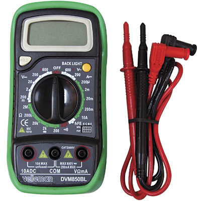 Digital Multimeter with Automatic Polarity Function - 49-6122-00 - Item Photo