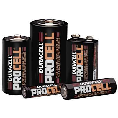 PROCELL D Alkaline Battery - 49-6174-00 - Item Photo
