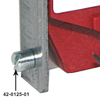 42-0125-01 - Mounting Stud for SUZOHAPP Coin Mech - Metric
