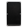 BLANK DUAL FRONT PLATE WITH NO CUTOUTS EXCEPT F/MOUNT HOLES - 42-4006-10