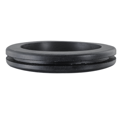 "RUBBER GROMMET FOR 2.5"" HOLE, 1/16""T, 2-1/8""ID, ,2-7/8""BORE - 43-0945-00 - Item Photo"