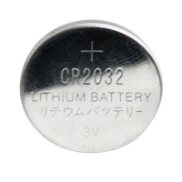 49-0857-00 - CR2032 Type 3V Lithium Battery, Coin Cell