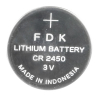 CR2450 Lithium Battery 3 Volts  - 49-0864-00