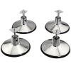 "Set of 4 Pool Table Leg Leveler 6-1/2"" Base - 49-0997-01"