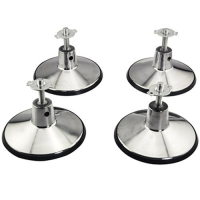 49-0997-01 - Set of 4 Pool Table Leg Leveler 6-1/2