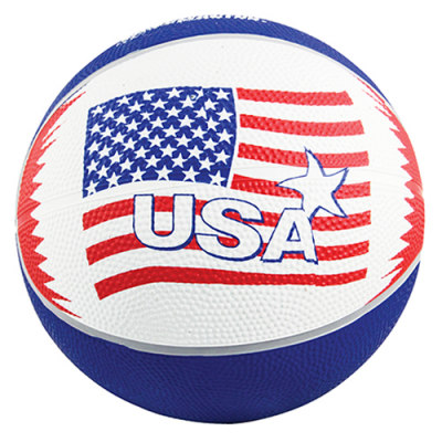 "7"" Red, White & Blue Basketball - 49-1264-00 - Item Photo"