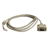 "CABLE FOR 3M SERIAL CONTROLLER RS-232 96""(2.4M)BEIGE or WHITE - 49-2782-00H"