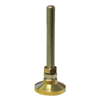 49-3043-00 - Leg Leveler Swivel with Nut, 1/2-13 x 4