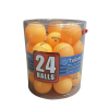 BALL, PING PONG ORANGE COLOR 1=PACK OF 24 BALLS - 49-3307-00
